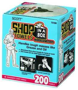 Scott 0560482 Blue Shop Towels In A Box 200pack