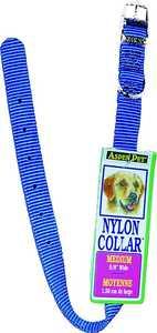 Aspen Pet 15458 5/8 x 16-Inch Blue Nylon Dog Colalr