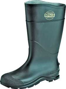 Norcross Safety 635755 Size 14 Black Pvc Boot 16 in