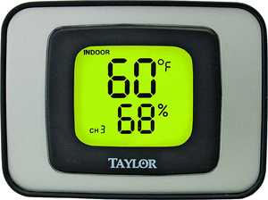 Taylor Precision Products 807826 Digital In/Outdoor Thermometer