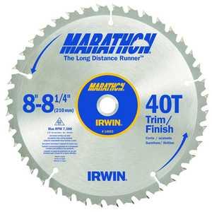 Irwin 817783 8-1/4 40tht Trim Saw Blade