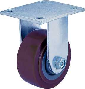 MintCraft 0854240 4 in X2 in Rigid Pu Plate Caster