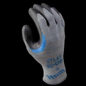 Showa Best Glove, Inc 330M-08.RT Gray W/Black Coating