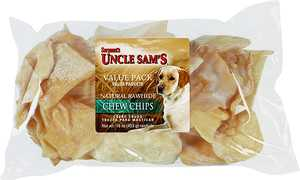 Sergeant's Pet 28700 White Chips 3x3 in 16 oz