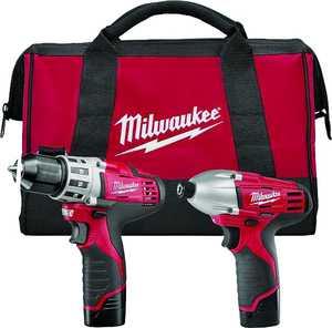Milwaukee 2494-22 M12 Drill/Impact Combo Kit