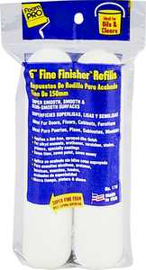 Foampro 176 6 in Fine Finish Roller Refills