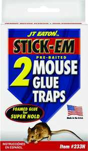 J.T. Eaton & Co., Inc. 233N Stick-Em Mouse Glue Traps