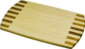 Waddell Manufacturing 2341782 Bamboo Cutting Board Piano 18x12