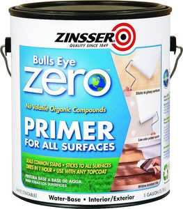 Zinsser 249020 Bulls Eye Zero Int/Ext Water Based Primer Gal