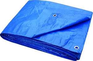 ToolBasix T0608BB70 Blue Tarp 6 x 8 Light Duty