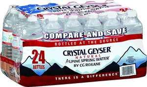Crystal Geyser 24514-7 Water 16.9 oz