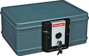 First Alert 2013F Key Lock Safe Water/Fire