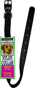 Aspen Pet 15460 5/8 x 16-Inch Black Nylon Dog Collar