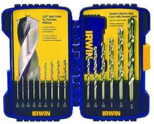 Irwin 316015 15pc Cobalt Drill Bit Set