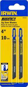 Irwin 3072410D Jigsaw Blade 4 in 10 Tpi Carbon
