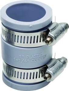 Fernco P1056-100 1 in Condensate Pipe Connector