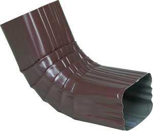 Amerimax 3622628 Brown Aluminum Downspout Elbow 2x3