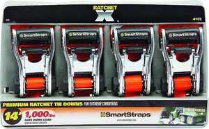 Winston Products, Llc 349 14 ft 3000lb Ratchetx 4pk