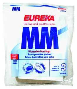 Eureka Company 60295C-6 Eureka Type Mm Vacuum Cleaner Bags, 3-Pack
