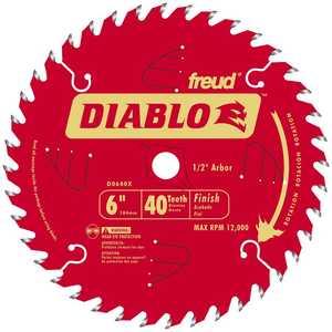 Freud D0640X 6 in X 40tht Finishing Blade