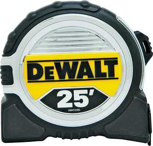 Stanley Tools DWHT33385L 1-1/4x25 ft Tape