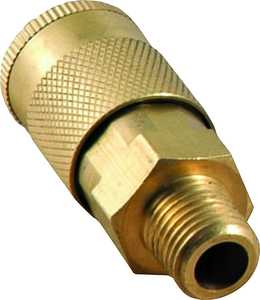 MintCraft ATA-056 1/4 in Brass Male Quick Coupler