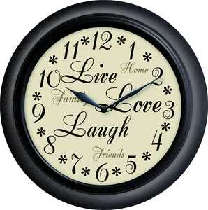 Westclox 32032 12 in Inspirational Wall Clock