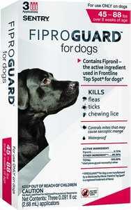 Sergeant's Pet 02952 Flea&tick Dogs 45-88lbs Fip