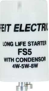 Feit Electric FS5/10 4/8-Watt Fluorescent Starter With Condenser