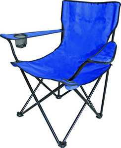 MintCraft 4141438 Blue Camping Chair With Bag