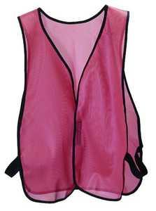 Msa Safety Works 818040 Hi-Viz Org Safety Vest Stndrd
