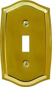 AmerTac 76TBR Sonoma Polished Brass 1-Toggle Wallplate