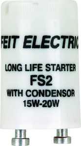 Feit Electric FS2/10 15/20-Watt Fluorescent Starter With Condenser