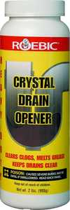 Roebic Laboratories HD-CRY-DO-6 Hvy Duty Crystal Drain Opener