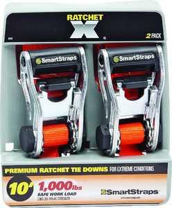 Winston Products, Llc 340 10 ft 3000lb Ratchet X 2pk