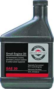Briggs & Stratton 100005 18 oz 30weight Motor Oil 18 oz