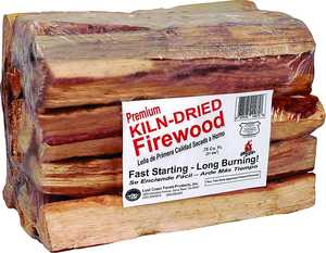 Lost Coast Forest Products 10275 Kiln Dried Firewood .75 Cu Ft Bdl