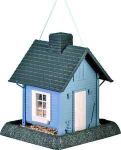 North States Industries 9085 Blue Cottage Birdfeeder