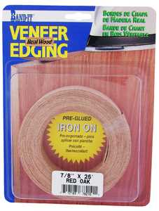 Cloverdale Company 78210 7/8 in x25 ft Red Oak Edging