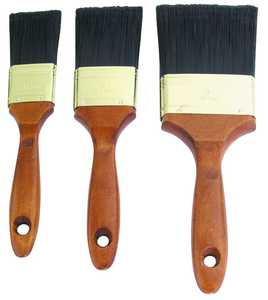 MintCraft A 22500 3pc Wood Handle Brush Set