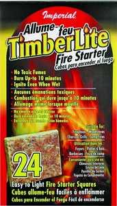 Imperial KK0312 Timberlite Firestarter 24piece