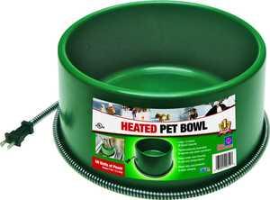 Farm Innovators 5508825 Round Heated Pet Bowl