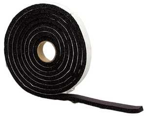 M-D Building Products 06577 1/4x1/2x10 Sponge Rubber Weatherstrip