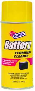 Gunk BTC4 5 oz Aerosol Bttry Termnl Cleaner