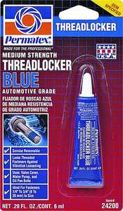 Permatex Inc 24200 6ml Blue Threadlocker