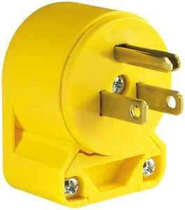 Cooper Wiring 4867AN-BOX 15a/125v Vinyl Angle Plug