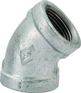 Worldwide Sourcing 4-1/4G 1/4 Gal vanized 45° Elbow