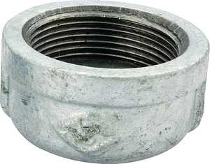 Worldwide Sourcing 18-1/2G 1/2 Gal v Malleable Cap