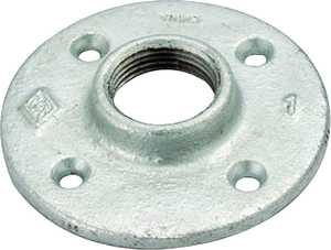 Worldwide Sourcing 27-11/4G 1-1/4 Gal vanized Mallbl Floor Flange