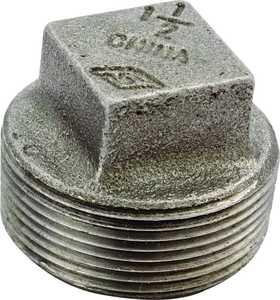Worldwide Sourcing 31-1/2B 1/2 Black Malleable Plug